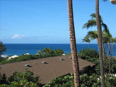 Kihei condo rental - View from Lanai