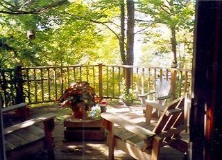 Athens - Sleepy Hollow Lake house photo - Deck with lounge chairs