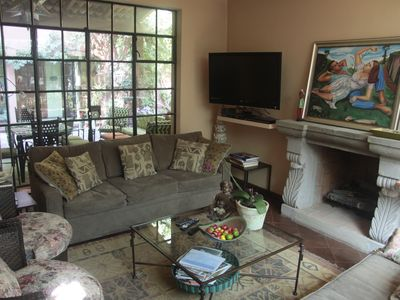 San Miguel de Allende house rental - New sofas in the living room are comfortable and lovely!