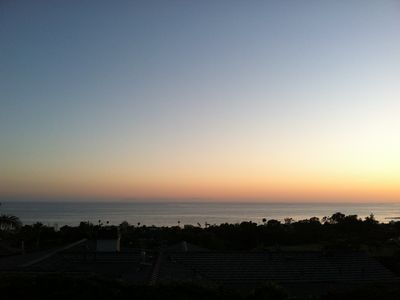Catalina Island view at Summer sunset (Panoramic part 1)