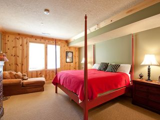 Deer Valley condo photo - The first bedroom with king-sized bed and couch.