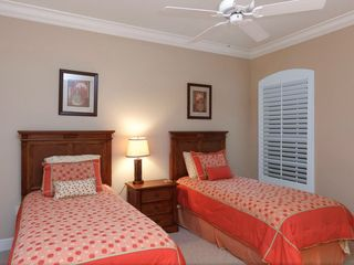Bonita Springs apartment photo - Guest bedroom with tow twin beds, large closet and private bathroom.