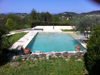 Nature and well-being (swimming pool, spa, jacuzzi, sauna, hammam) domaine d'oliviers