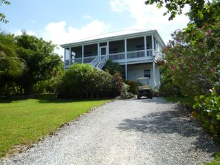 Green Turtle Cay house photo - Front View of Peaceful Times