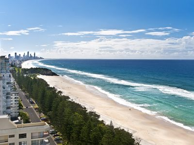 ' View North to Broadbeach and Surfers Paradise '