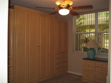 Second Bedroom with Closed Murphy Bed