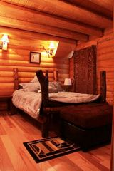 Lake Arrowhead cabin photo - Master Bed Room