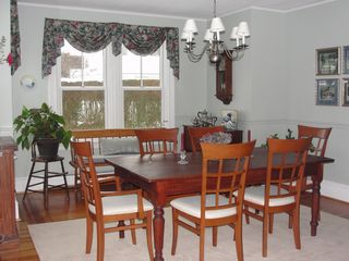 Jamestown (Conanicut Island) house photo - Dining room - seats 8
