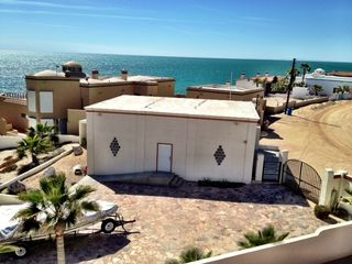 Puerto Penasco house photo - Gate entrance to property. Off street paved inclosed parking.