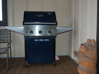 Winter Park condo photo - Grill yourself a delicious steak using the BBQ on the deck