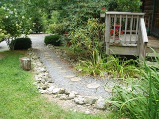 Boone cabin photo - A Little Path Takes You from The Parking Area to The Entrance