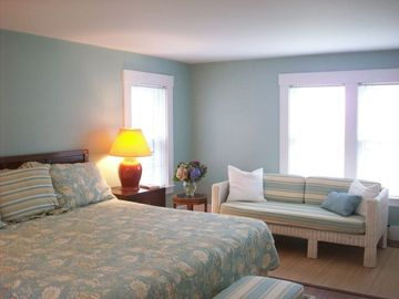 Master Bedroom with ocean view and seating area