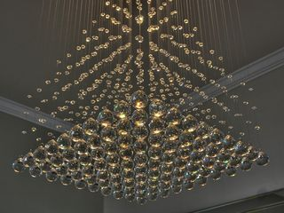 Champions Gate villa photo - Rain Drop Crystal Chandelier