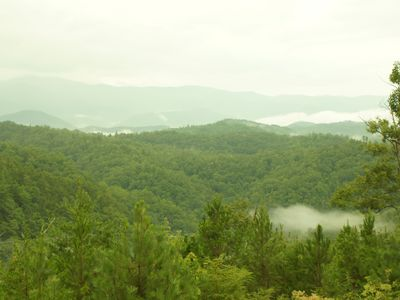 You can see why they are called the Smoky Mountains
