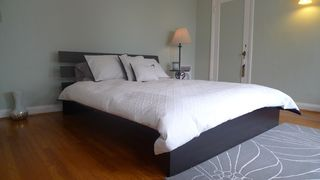 Los Angeles house photo - master bedroom. organic latex deluxe bamboo firm mattress. more furniture added