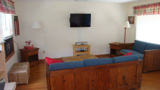 Sand Hill Cove house photo - Living room with flat screen tv, cable & wireless internet;