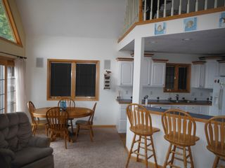 Muskegon cottage photo - Dining area and snack bar