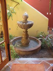 Loreto house photo - Interior garden with fountain