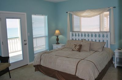 Galveston house rental - A third bedroom - with deck access!