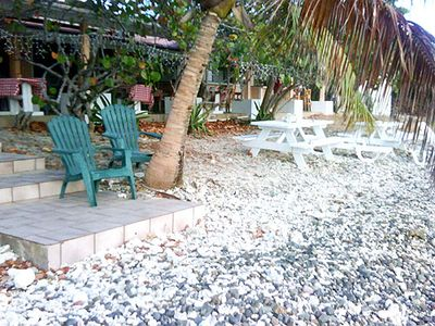 Relax and suntan by the private Tamarindo snorkeling beach.