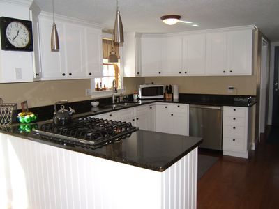 Totally updated kitchen with granite counters