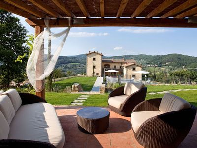Affresco 4 Apartment for rent with swimming pool in Bagno a Ripoli
