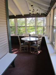 Jay Peak house photo - Our home, set back from the road and surrounded by the pines.