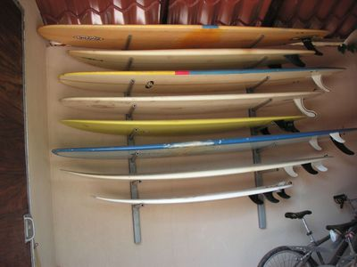 Large and always changing selection of quality surfboards of all shapes & sizes.