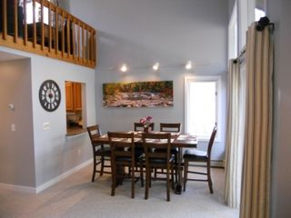 North Conway townhome photo - Pub-style dining for the whole family.