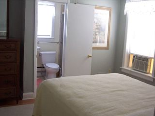 Stone Harbor property rental photo - Second Master Bedroom (Queen Bed) Private Bathroom
