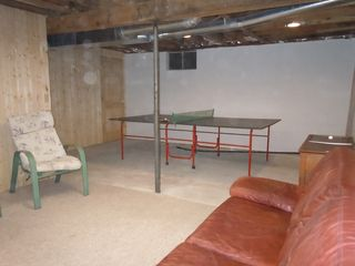 Crystal Mountain, Thompsonville cottage photo - Enjoy a game of ping-pong in basement rec. room