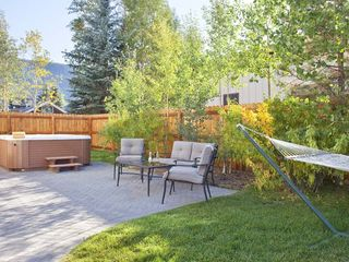 Crested Butte townhome photo - Outdoor Hot tub - Hammock