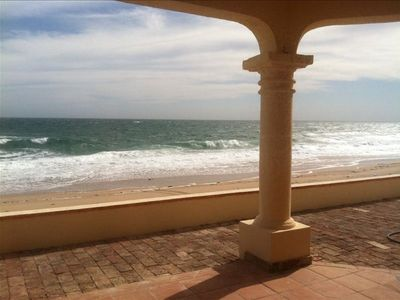 Views of ocean, waves, sealife, sights under covered porch just  steps to beach