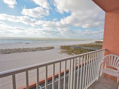 Stunning Views of the Beach from your Private Balcony