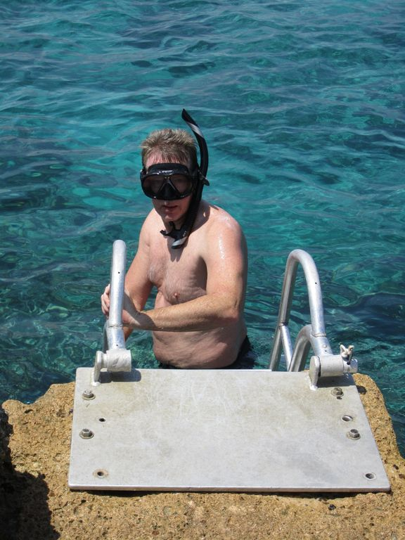 Easy Ocean Access for Snorkeling or Diving