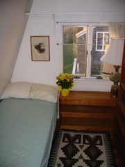 Gloucester - Annisquam house photo - Small bedroom (now with full-sized bed)