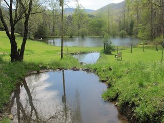 Robbinsville farmhouse photo - Settling Ponds, 1 Acre Pond. 2012