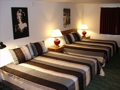Double King Beds in Lower Level Bedroom Suite w/Full Bath