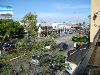 Long Beach apartment photo - View of 2nd St. from Murphy's Pub - 2 blocks away