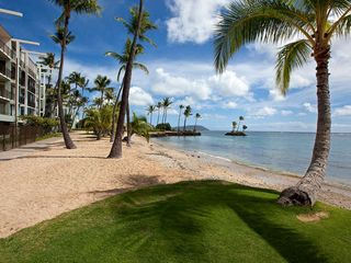 Kahala condo photo - The Kahala Beach Condos are Located Right on this Beach