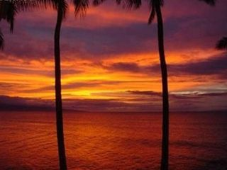 Lahaina condo photo - Can you imagine seeing this every night?