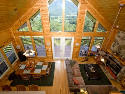 Pigeon Forge cabin rental - Loft View