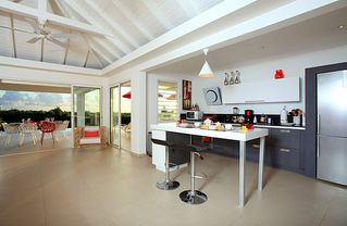Terres Basses villa photo - kitchen