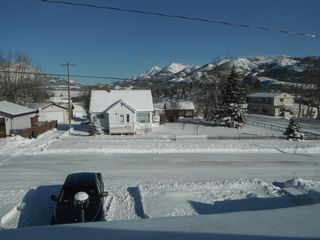 Crowsnest Pass house photo - And the views.......!