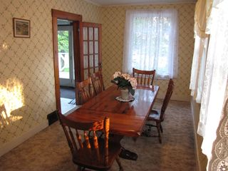 Eastport house photo - Dining room