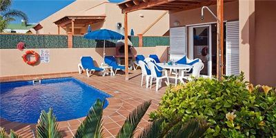 Holiday house for 6 persons, with swimming pool, in La Oliva's Corralejo