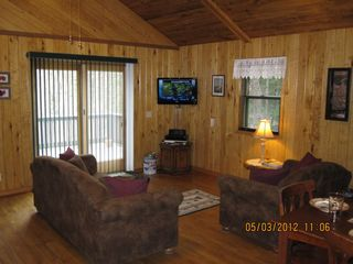 Munising chalet photo - Living Room, Flat Screen TV, Pull Out Couch, Love Seat