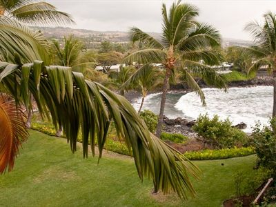 Surf's up! View from main lanai.