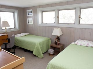 Chilmark house photo - Double twin bed room