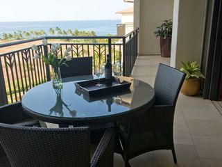 Ko Olina villa photo - Enjoy your meals with the panaromic Ocean View from Lanai